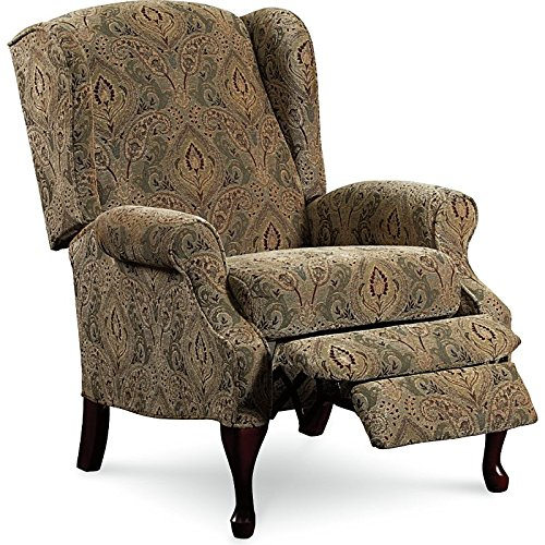 Queen Anne Wingback Chair - 6