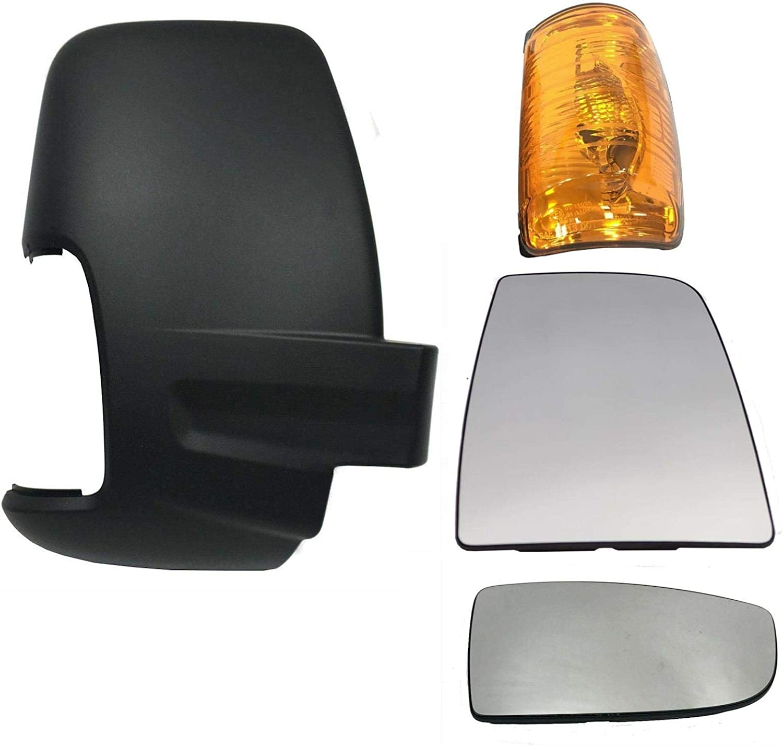 Amber Wing Mirror Indicator Light Lens LH Passenger Side