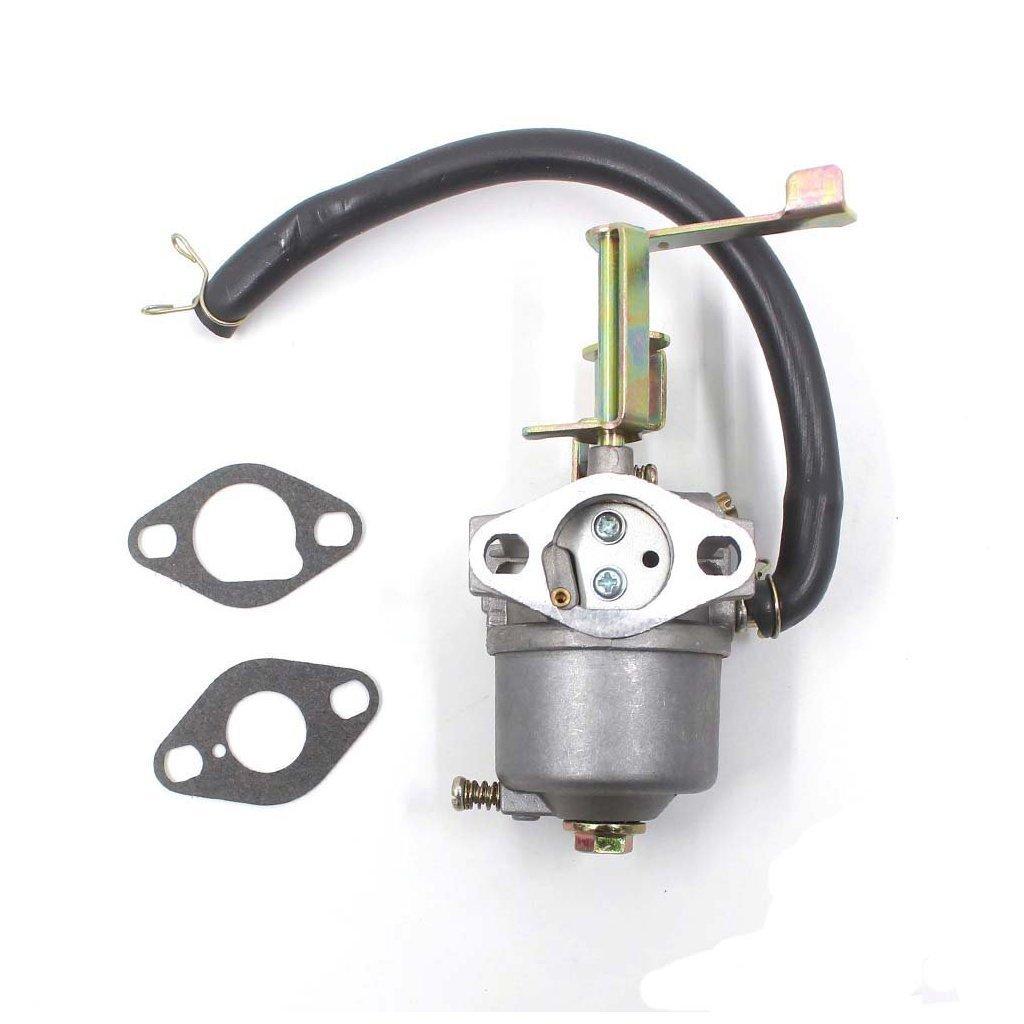 Amazon.com: Huri carburador con junta para Troy Bilt 01923 ...