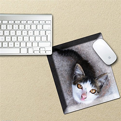 Waterproof Scroll Mouse - Art - Mouse Pad Sticker Mouse Mat Decals Waterproof Removable Kitten Stickers Cat Decor Gift - Creep Launching Paper Inking Digs Diggings Lodgings Sneak Tablet Gummed Label Stamp - 1PCs