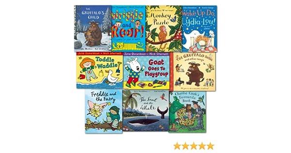 The Julia Donaldson Collection Pack 10 Books Set Inc Gruffalo Song Book: Amazon.es: Julia Donaldson: Libros