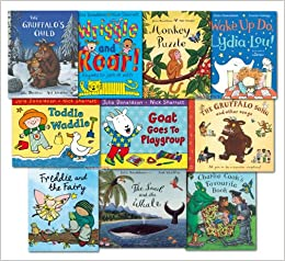 The Julia Donaldson Collection Pack 10 Books Set Inc Gruffalo Song ...