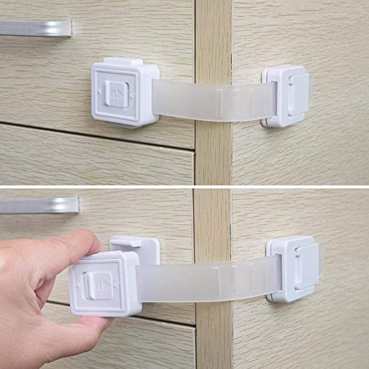 2 Count Munchkin Xtraguard Dual Action Multi Use Latches 2 day shipping