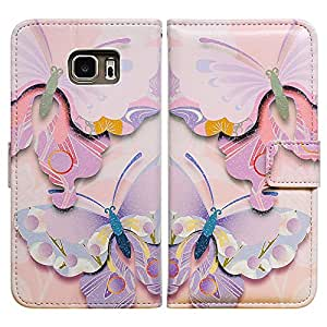 Bcov Colorful Dot Butterfly Leather Wallet Cover Case For Samsung Galaxy Note 3