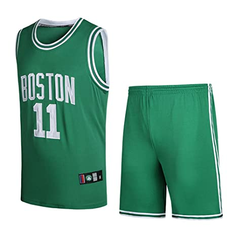 BUY-TO Camiseta NBA Celtics Owen Shorts Traje de Uniforme de Baloncesto número 11,