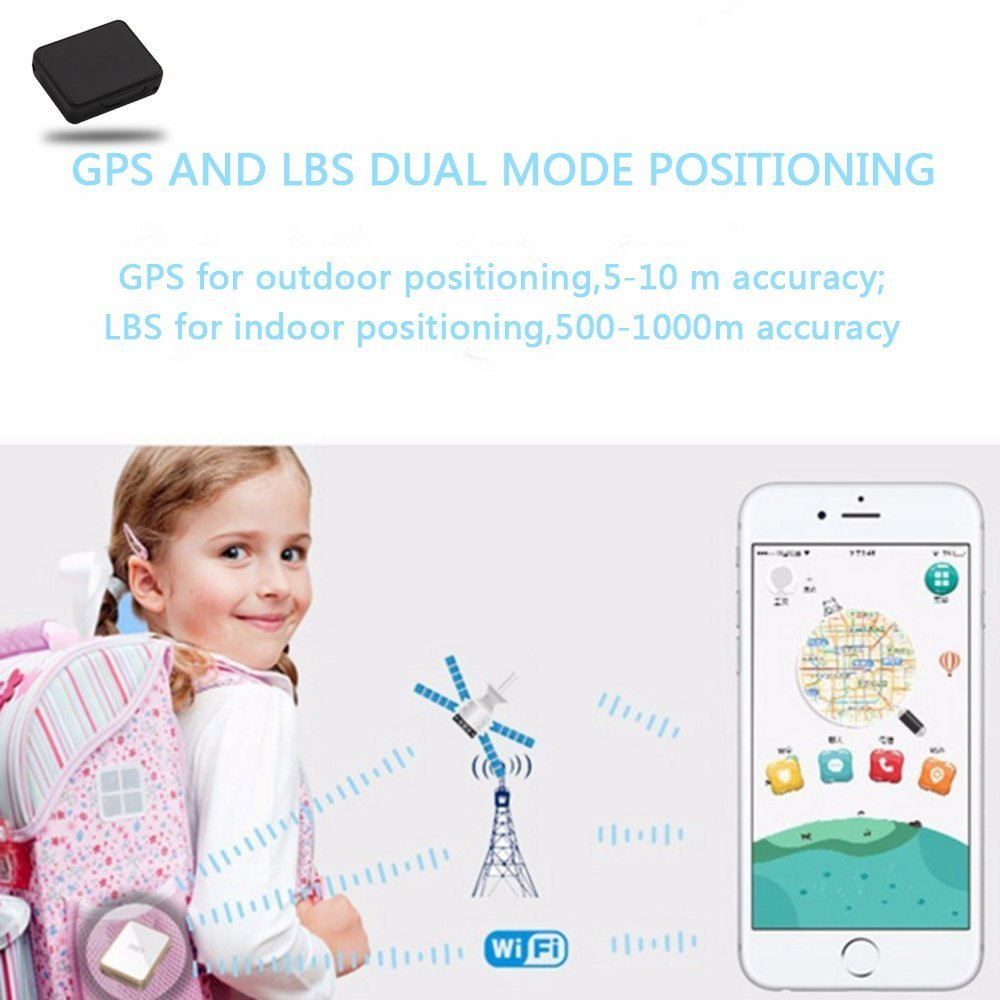 Smart GPS Tracker Spy Mini Portable Real Time tracking device Wireless GPRS SIM Locator For Vehicle Car Children (K8) by ZHLL (Image #6)