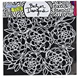 CRAFTERS WORKSHOP Crafters Workshop TCW592S Template, 6'' x 6'', Mumsy, White
