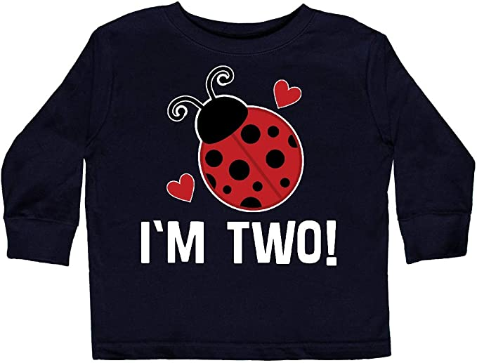 inktastic Adorable Ladybug Toddler Long Sleeve T-Shirt
