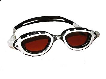 75313a8a863 Limited Edition Zoggs Predator Flex Polarized Ultra Swimming Goggle (White Black  Bronze)