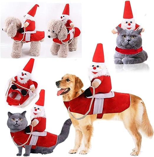 Uyuke Ropa de Disfraces de Perros de Navidad Divertido Equipo de ...
