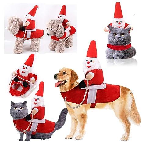 Pandao - Disfraz de Navidad para Mascotas, Disfraz de Papá ...