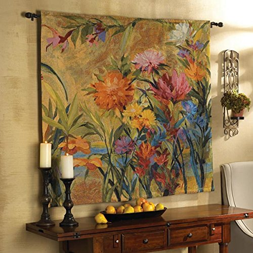 Martha Collins Wall Hanging Floral Tapestry - Large