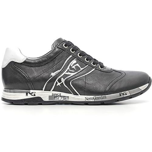 Plantare 616190 Made Italy Nero In Estraibile Sneakers Giardini ZqxwwSHg