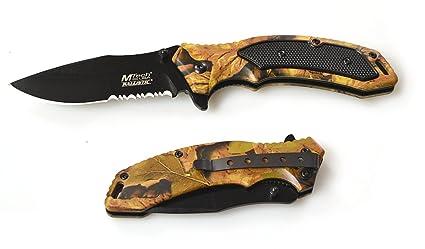 Amazon.com: Mtech USA mt-a835ca Primavera Asistida cuchillo ...