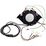 3 inch arcade game LED color changing trackball with USB and PS2 interface