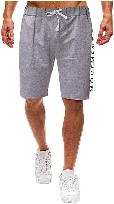 Pantalones Cortos de Hombres Moda Costura Playa Short ...