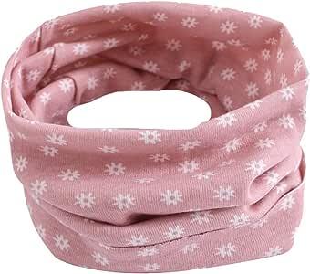 Tenchif Kid Boys Girls Scarf Letter Pattern O-ring Baby Scarf Neck Warmer