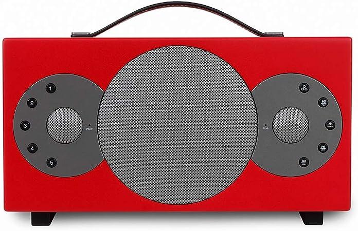 'Tibo Sphere 4Altavoz portátil Bluetooth/WiFi para iOS/Android Rojo