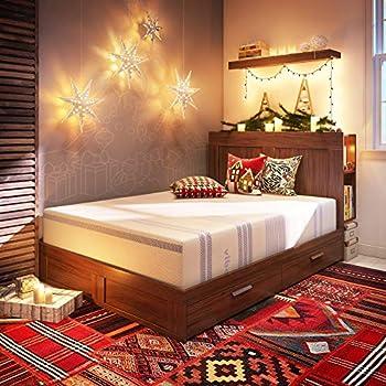 Vibe 12-Inch Gel Memory Foam Mattress | Bed in a Box, [Mattress Only], King