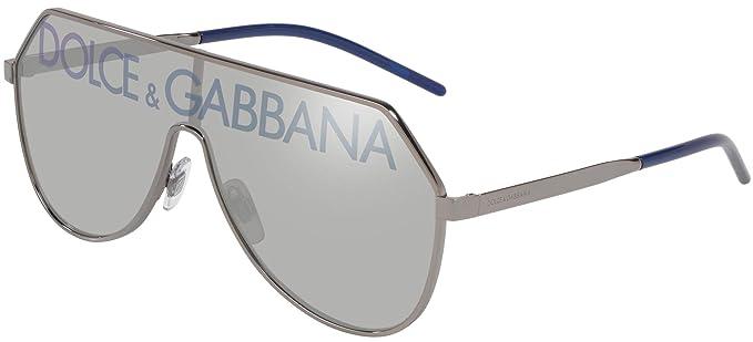 Dolce & Gabbana 0Dg2221 Gafas de Sol, Gunmetal, 40 para ...