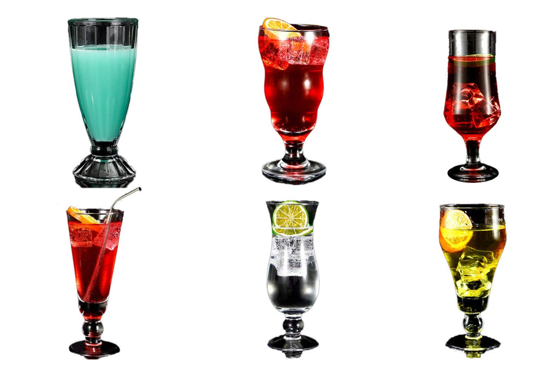 Juice Cup Glass Tea Milkshake Home Creative Ice Cream Cold Drink Sand Ice Drink Cup