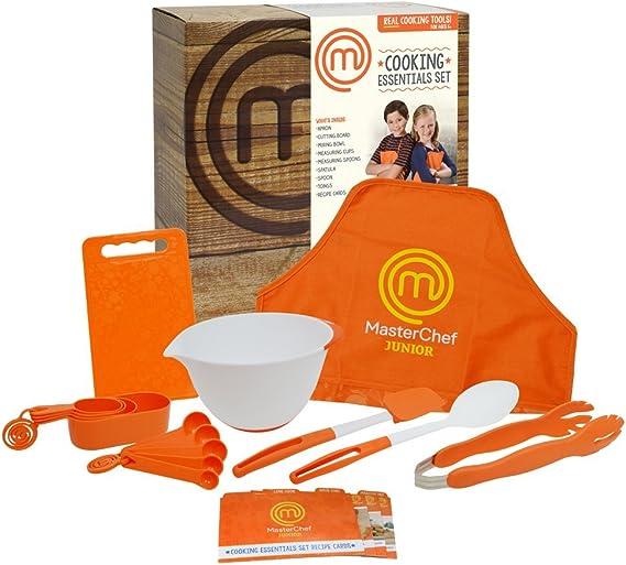 MasterChef Jr cocinar Essentials Set: Amazon.es: Juguetes y juegos
