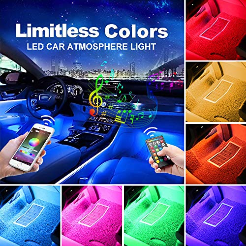 AUXITO Multi Coloured Interior Lighting Function product image