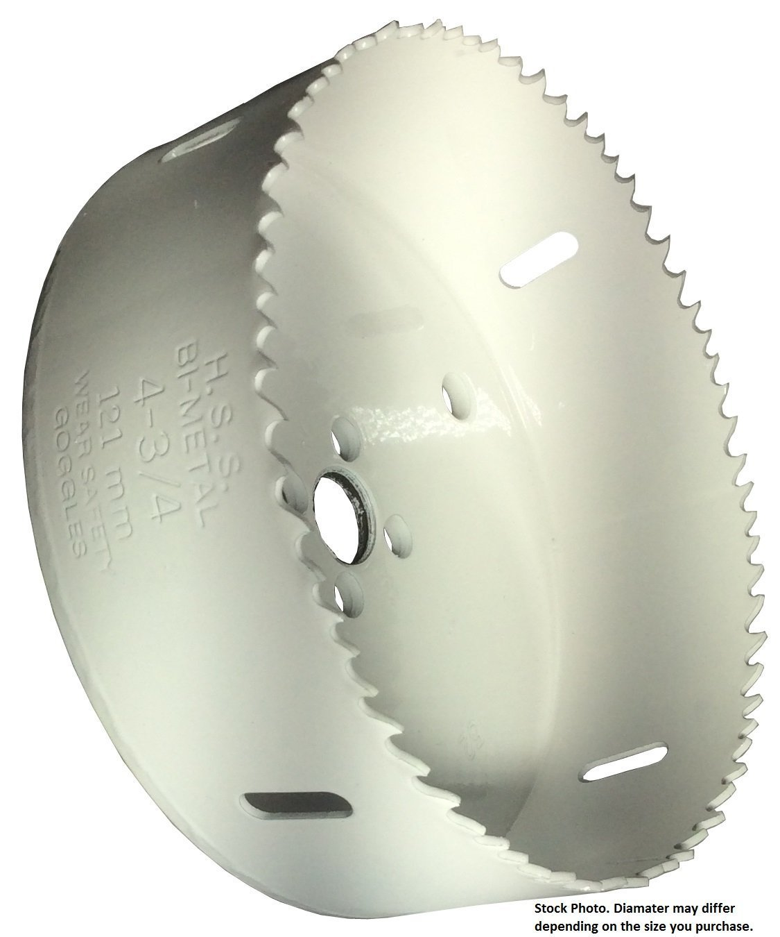 Drill America DMS04-1121 Steel Hole Saw 4-3//4 Hole Size