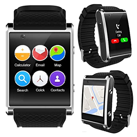 inDigiUNLOCKED! Android 4.0 Smart Watch Cell Phone w/WiFi Bluetooth Google Play Store