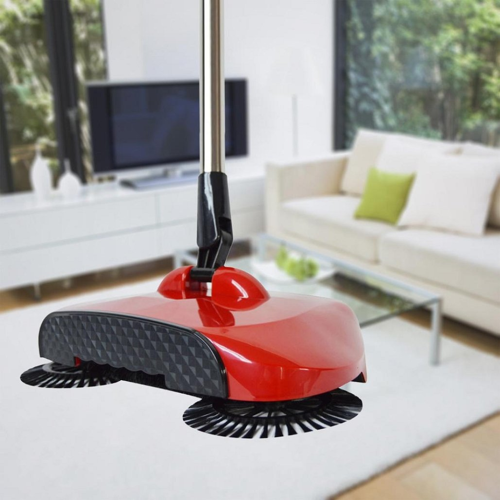 New Arrival 360 Rotary Telescopic Floor Dust Sweeper -Home Sweeper With Adjustable Handle ,Tuscom (#1)