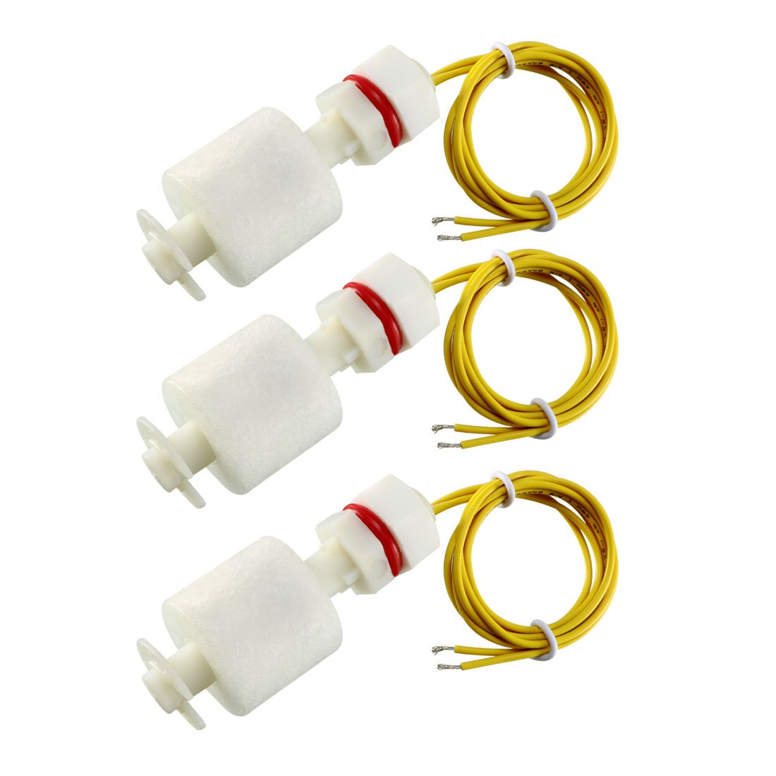 uxcell 3 Pcs ZP4510 Liquid Water Level Control Sensor Straight Float Switch - - Amazon.com