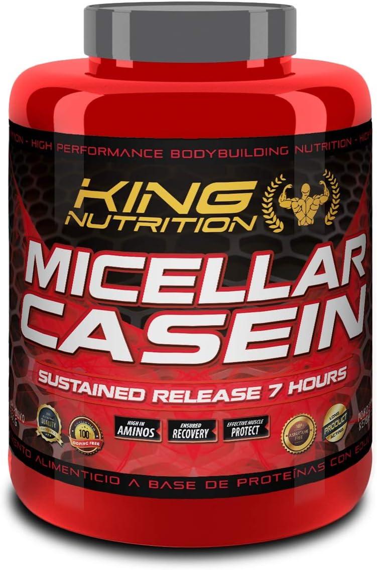 CASEIN MICELLAR 2,3Kg Vainilla KING NUTRITION caseina micelar