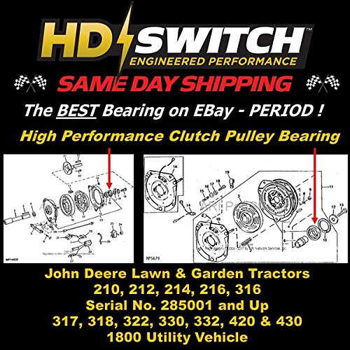 Amazon.com: HD interruptor john deere Clutch reconstruir ...