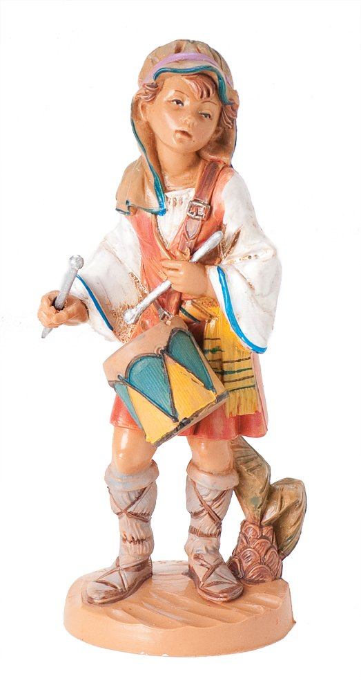 Fontanini Jareth the Drummer Boy Italian Nativity Village Figurine 55103