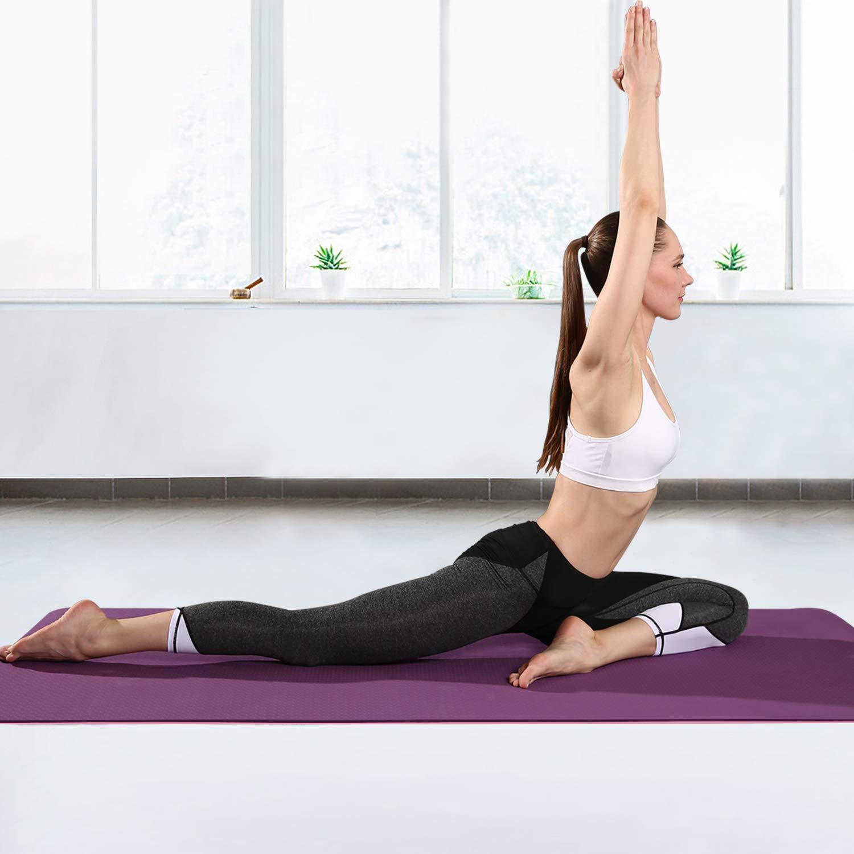 arteesol - Esterilla de Yoga Antideslizante, de TPE ...