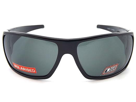 ca1b8114e0 Dirty Dog 53256 Black Axe Wrap Sunglasses Polarised Lens Category 3 Lens  Mirror  Amazon.co.uk  Clothing