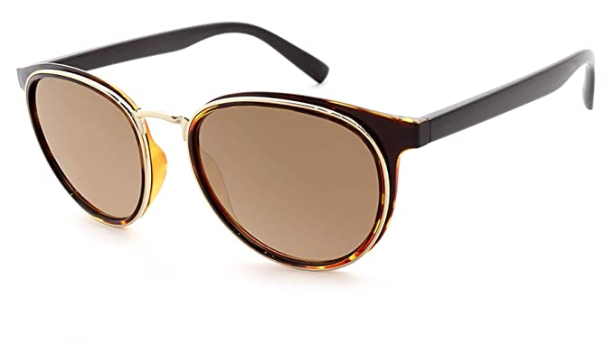 1f1e8780f1 Peppers Karson Sunglasses with Gold and Tortoise Accent with Brown Polarized  Lenses