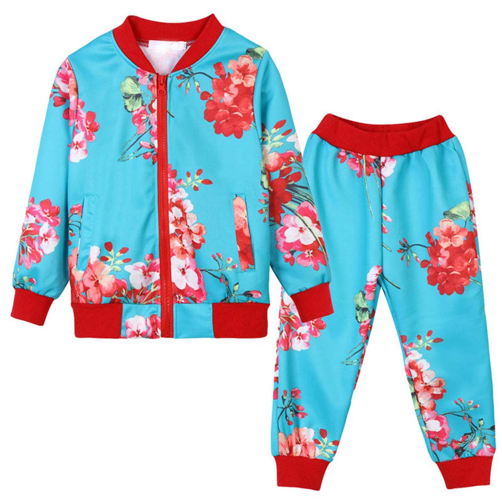 Children Clothing 2018 2pcs Set Outfit Kids Clothes Tracksuit Suit for Girls