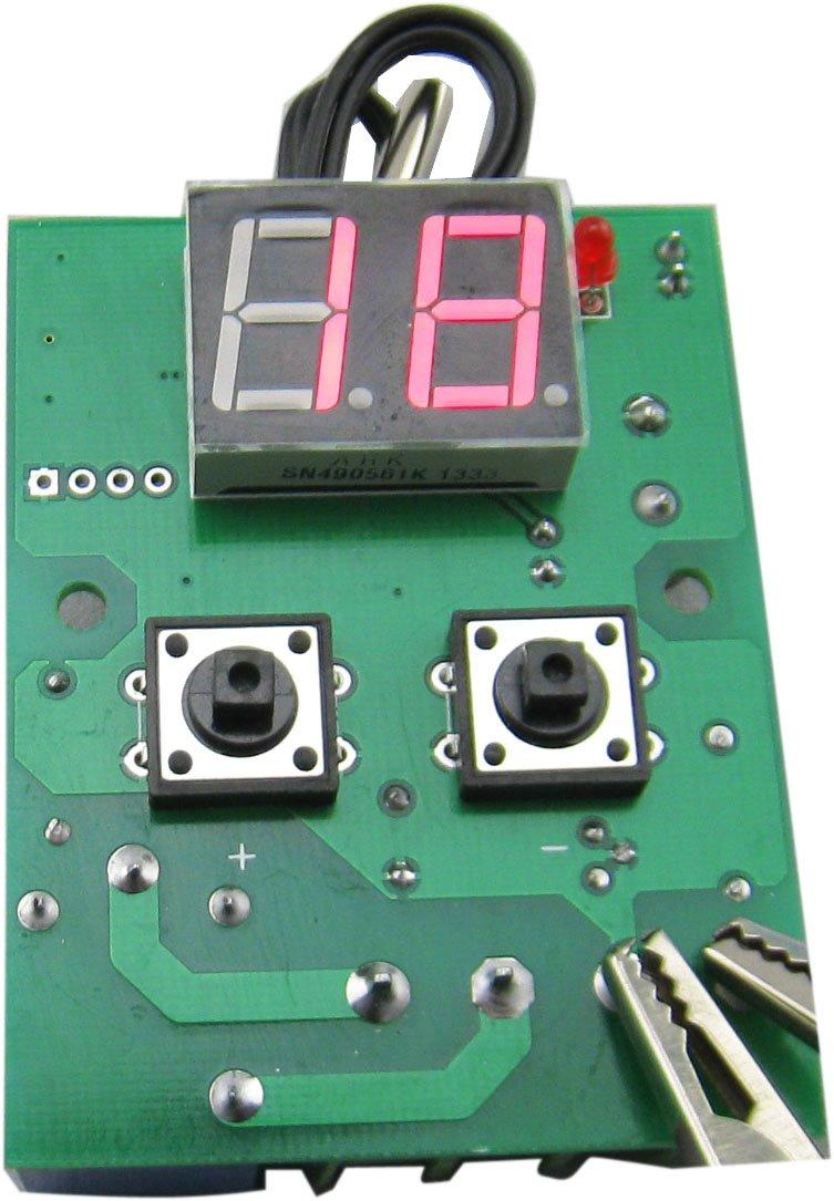 Yeeco DC 12V 0-99 ° C Heizung Kühlung Verzögerungseinstellung Digital Thermostat Temperaturregler Temperaturregelung Temp Thermometer + NTC (10K 0, 5%) Wasserdichter Sensor