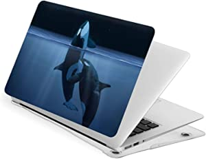 Ohclearlove MacBook Pro 15 Inch Case Whale Tough The Galaxy Hard Laptop Shell Case Cute Protective Laptop Cover
