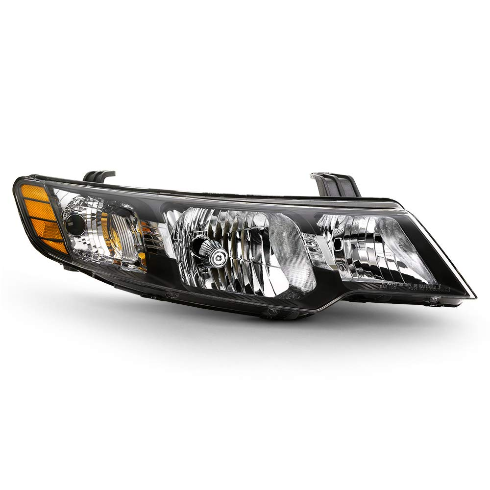 2013 Kia Forte Koup >> For 2010 2013 Kia Forte Forte Koup Passenger Side Black Housing Oe Style Headlight Right Headlamp Direct Fit Replacement Housing