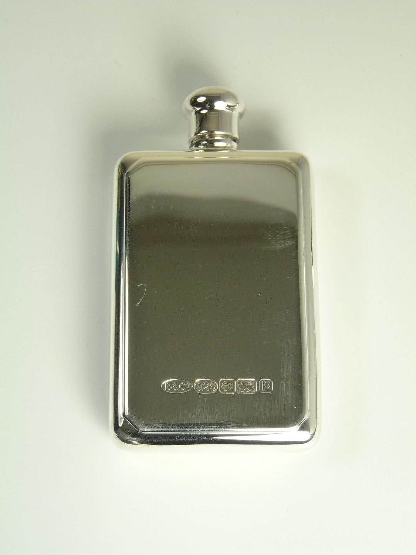 Nuovo argento Sterling fiaschetta e imbuto piccolo formato scatola