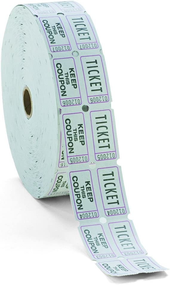 PM Company 59005 Record Keeping & Reference Materials Ticket Roll