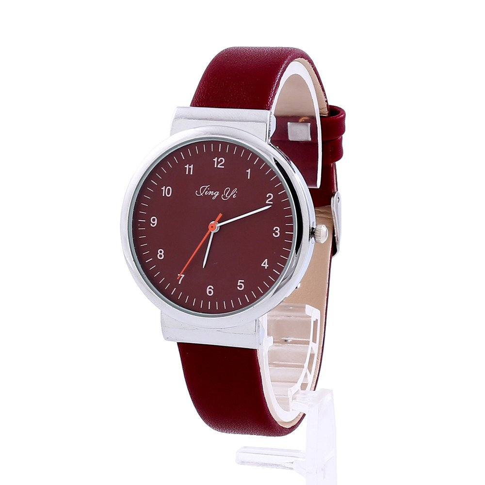 Rcool Relojes suizos relojes de lujo Relojes de pulsera Relojes para mujer Relojes para hombre Relojes deportivos,Reloj de pulsera de cuero clásico con ...