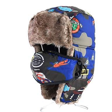 bb6581f69f2 Children Bomber Trooper Trapper Hat
