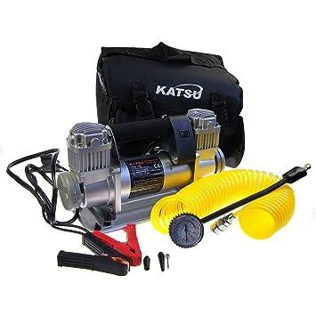 451715 12 V Inflador compresor de neumático profesional 4XWD: Amazon.es: Bricolaje y herramientas