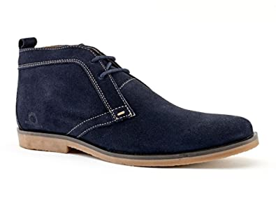 Chatham DUNE Desert boots navy: Amazon.co.uk: Shoes & Bags