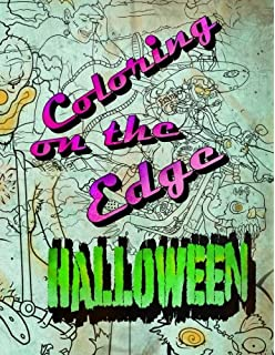 Coloring On The Edge Halloween