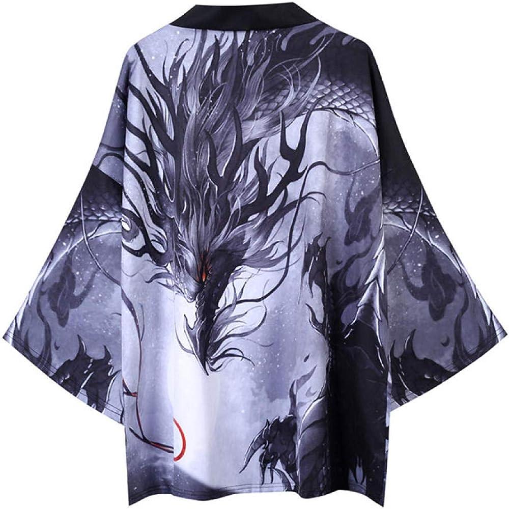LYH Kimonos Japoneses Camisas Streerwear Grúas Yukata ...