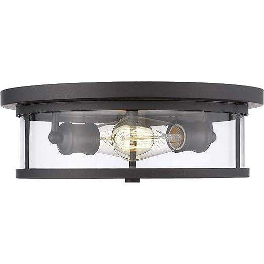 Amazon.com: Soportes empotrables 2 lámparas con acabado en ...